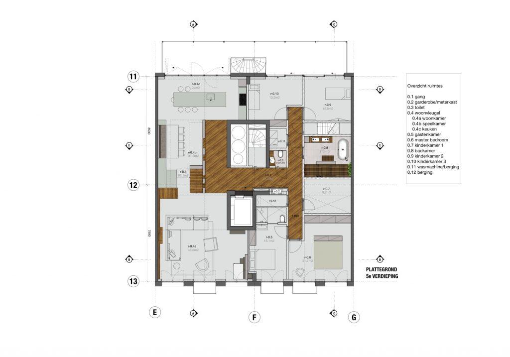 DISELarchitects_Penthouse Bilderdijkkade-Ontwerp01
