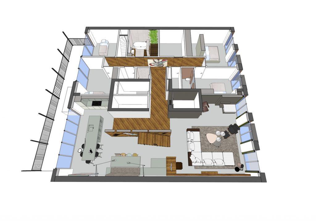 DISELarchitects_Penthouse Bilderdijkkade-Ontwerp08